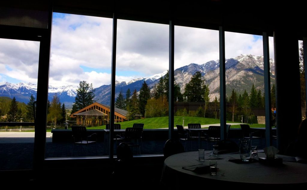 View from Banff Conference Center