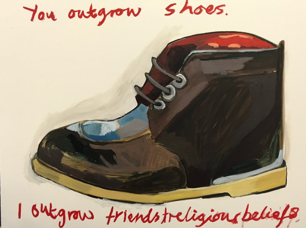 outgrow shoes